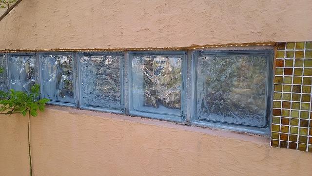 埋め込みガラスブロック