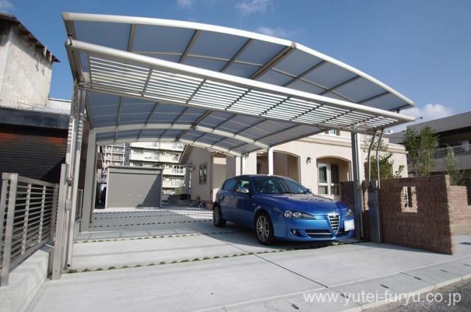 新築外構駐車スペース