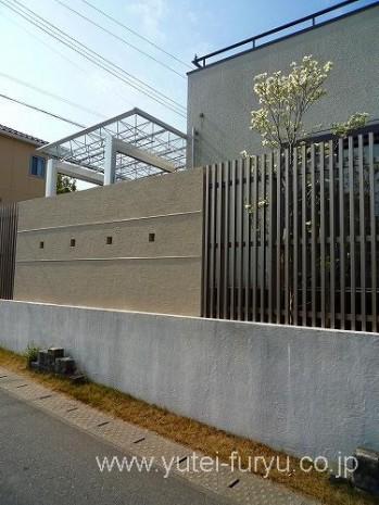 塗り壁とエバーアートウッド