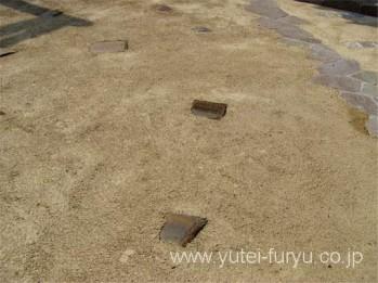 真砂土舗装