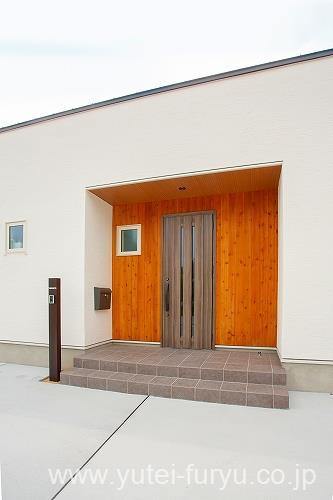 新築外構 玄関まわり