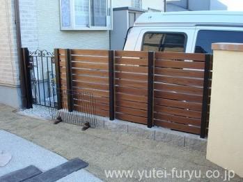 門扉+ウッドフェンス