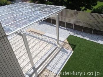 屋根テラスMシェード