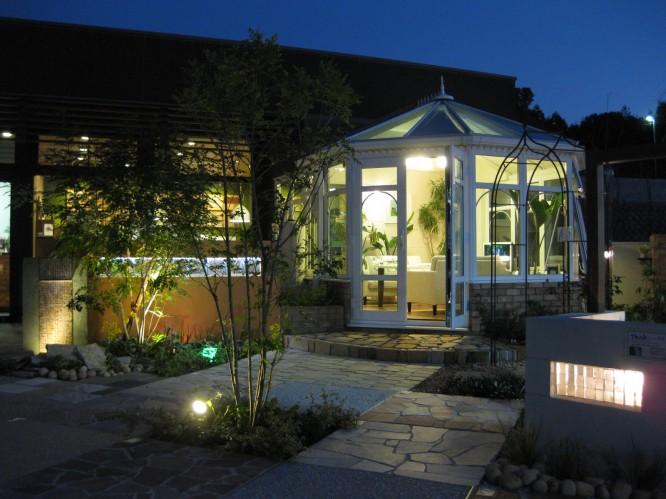 福岡県福岡市、外構・エクステリア・庭づくりの展示場