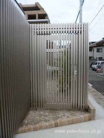 リレーリアスクリーン門扉