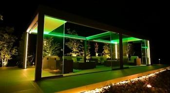 ガーデンアネックス ライトアップ