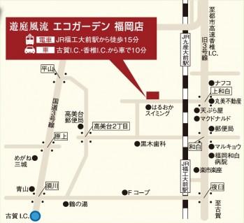 福岡店地図